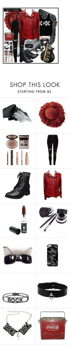 """""""Untitled #230"""" by fashiongarlx ❤ liked on Polyvore featuring interior, interiors, interior design, home, home decor, interior decorating, Gorgeous Cosmetics, Charlotte Tilbury, River Island and DC Shoes"""