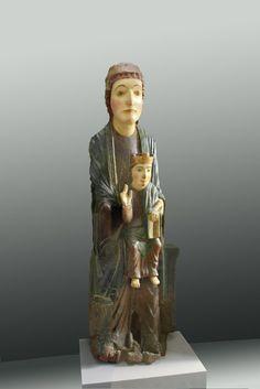 Virgen románica. La Virgen con el Niño XII San Miguel de Escalada León