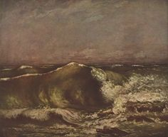 The Wave by @artistcourbet #fineart #arthistory
