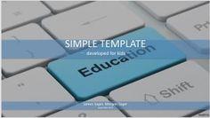 Education Simple Kids PowerPoint