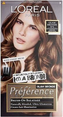 L Oreal Paris Preference Glam Bronde No5 Beige Highlights For Dark