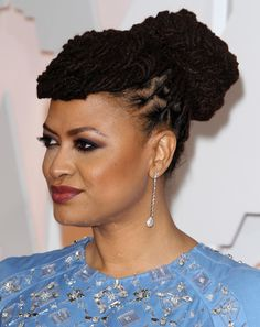 ...  while Black women have always made bold statements with their luxe locs, we couldn't wait to share our latest favorite undo locked look by Ava Duvernay. Description from talkingtexture.com. I searched for this on bing.com/images