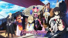 Velvet, Laphicet,  Eizen, Rokurou, Magilou & Eleanor