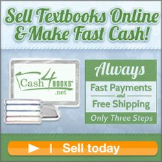 Sell Textbooks For Cash - Sell Used Books Sell Books For Cash, Sell Used Books, Sell Your Books, Books To Buy, Sell Textbooks Online, Home Based Jobs, Work From Home Jobs, Used College Books
