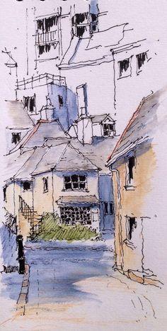 St Ives ~ sketch