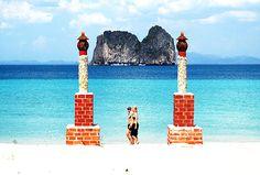 Mayalay Beach Resort, Koh Ngai, Krabi - Beach