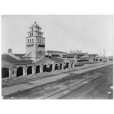 Old Santa Fe Railroad Station,Albuquerque,NM