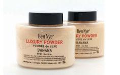 HOT Sales Brand Ben Nye Banana Powder 1.5 oz /3 oz Bottle Luxury Powder Poudre de Luxe Banana Loose Powder 42g/85g Beauty Makeup