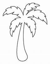 Palm tree pattern. Use the printable