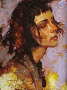 'Modern Woman' by Joseph Lorusso is part of  the Small Works Fine Art Auction held by Morris & Whiteside Galleries and The Sylvan Gallery. #art #auction