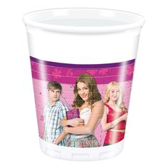 Violetta : Bicchieri in plastica Violetta Procos 8pz 200ml