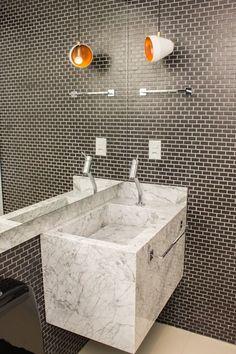 Banheiro: Banheiros modernos por Geraldo Brognoli Ludwich Arquitetura