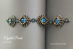 Superduo Bracelet Tutorial Beaded Bracelet by SidoniasBeads