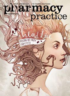 Ëlodie / Pharmacy Practice Magazine / Toronto. Good design and pharmacy? I can't believe my eyes!