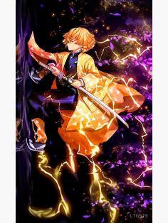 demon slayer kimetsu no yaiba zenitsu kimetsu n Manga Anime, Anime Demon, Otaku Anime, Demon Slayer, Slayer Anime, Zenitsu Kimetsu No Yaiba, Chibi, Fan Art Anime, Accel World