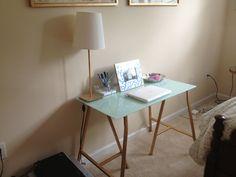 Bedroom desk via The Gracious Posse