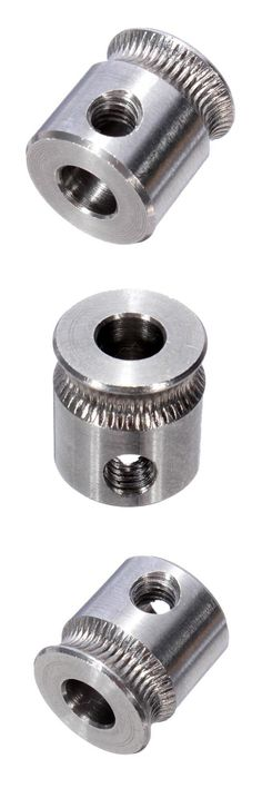 [Visit to Buy] stainless steel 3D Printer Filament Extruder Pulley Gear MK7 Teeth Drive Gear With M4 hexagonal Screw #Advertisement