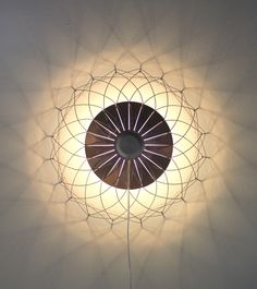 Lamp 'Lite' by Dutch Designer Rick Tegelaar, introduced at the Dutch Design Week 2013