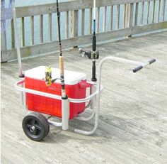 Now thats what i call a Fishing Cart