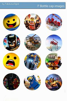 Free Bottle Cap Images: Lego free digital bottle cap images