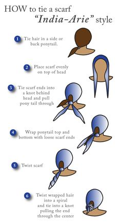 How To Tie Head Scarves I Thought This Website Only Did Regular Scarfs This Is The Best Yo