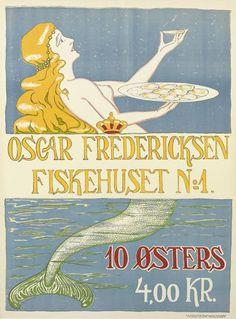 S.M.M. (DATES UNKNOWN) OSCAR FREDERICKSEN FISKEHUSET NO. 1. / 10 ØSTERS.