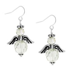 Angel of Grace Earrings | Fusion Beads Inspiration Gallery- How To