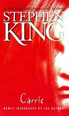 Carrie by Stephen King.   Movie release date:March 15