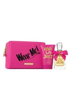 Viva la Juicy is the perfect scent for the glamorous girl who is always the life of the party.