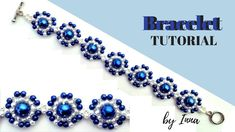 How to make a pearl bracelet. Easy beading pattern