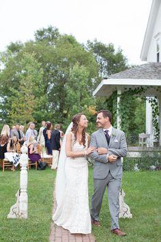 Photography: Heather Cook Elliott Photography - HeatherCookElliott.com Floral Design: Avant Garden - theavantgarden.com  Read More: http://www.stylemepretty.com/2013/01/16/wisconsin-backyard-wedding-from-heather-cook-elliott/