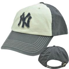 "MLB Hat Cap Curved Bill Relaxed Fit Stitched Vintage Style New York Yankees by Fan Favorite. $14.95. Official Licensed Product. Adjustable. Snap Buckle. Brand New Item with Tags. 100% Cotton. This vintage styled hat features a stitched team logo on front panel. ""YANKEES"" embroidered on closure. Adjustable snap buckle closure.Garment washed relaxed fit. Officially Licensed MLB Product. One size fits most.. Save 25%!"