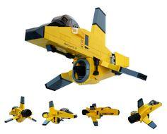 LEGO Scout Corsair by legodrome
