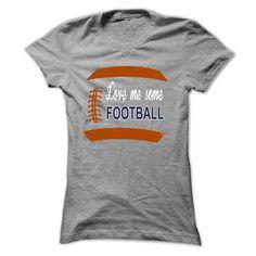 LOVE ME SOME FOOTBALL MOM T-Shirts, Hoodies. GET IT ==► Funny Tee Shirts
