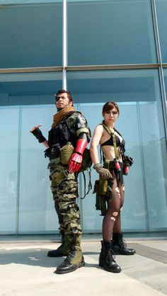 Metal Gear Solid V Isn't Available Yet, But The Cosplay Is