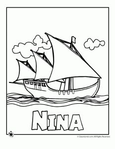 3 printable Columbus Day worksheets for elementary students, including a word search and two word puzzles. History Activities, Activities For Kids, Nina Pinta Santa Maria, Christopher Columbus Ships, Happy Columbus Day, Indigenous Peoples Day, Cc Cycle 3, Ship Drawing, My Father's World