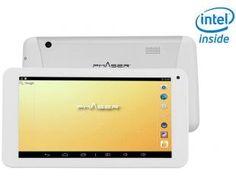 "Tablet Phaser PC 713 4GB Tela 7"" Wi-Fi - Proc. Intel Dual Core Câmera Frontal"