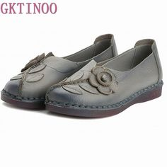 Tendance Chaussures 2017/ 2018 :    Description   2017 Spring Women Casual Shoes Female Genuine Leather Loafers Shoes Woman Fashion Slip On Flats Shoes #Affiliate    - #Chausseurs https://madame.tn/fashion/chausseurs/tendance-chaussures-2017-2018-2017-spring-women-casual-shoes-female-genuine-leather-loafers-shoes-woman-fashio/