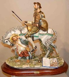 Capodimonte Don Quixote