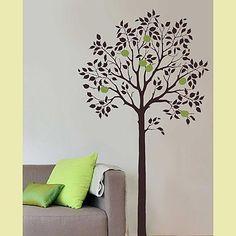 Tree wall painting idea