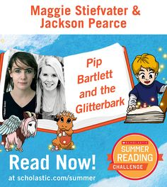 The tenth summer story is live on the Summer Reading Challenge website! Click through to read Pip Bartlett and the Glitterbark, by Maggie Stiefvater and Jackson Pearce. scholastic.com/summer #summerreading