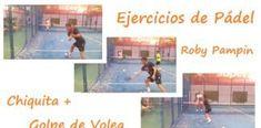"""EJERCICIOS para Practicar el Golpe """"CHIQUITA"""" en Pádel Videos, Baseball Cards, Sports, Exercises, Hs Sports, Sport"""