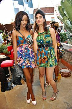 Beautiful Kitenge dress by Kenyan brand Kipusa Clothing! # ...