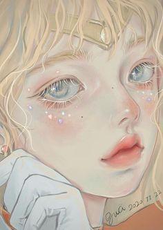 Aesthetic Art, Aesthetic Anime, Arte Grunge, Nagisa Shiota, Cartoon Art Styles, Digital Art Girl, Eye Art, Pretty Art, Anime Art Girl