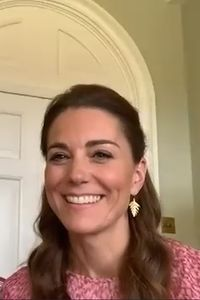 Kate Middleton Hair | Duchess Of Cambridge Hairstyles | British Vogue Queens Birthday Party, Plaited Updo, Yellow Fascinator, Bouncy Blow Dry, Kate Middleton Hair, St Patricks Day Parade, Lighter Hair, Remembrance Sunday, Top Knot