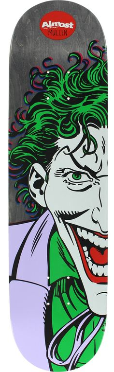 Almost Rodney Mullen Resin 7 Joker Splitface Skateboard Deck