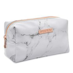 Marbleous White Bag Finish your Instaworthy Marbleous Collection with the white marble print makeup bag. The soft faux leather bag is finished with a rose gold zip, stylish white l -> Stuff 2 Buy (Visited 1 times, 1 visits today)