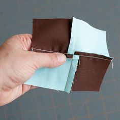 trick to non-bulky seams with a 4 or 9 patch.