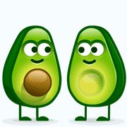 The perfect Avocadolove Avocado Love Animated GIF for your conversation. Discover and Share the best GIFs on Tenor. Emoji Images, Emoji Pictures, Gif Pictures, Love You Gif, Cute Love Gif, Animated Emoticons, Animated Gif, Desenho New School, Gifs Lindos