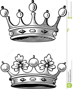 Resultado de imagen para coronas rey y reina